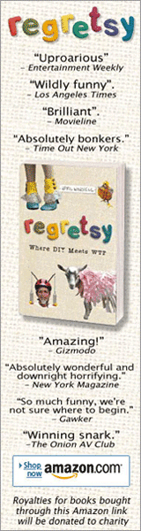 Buy the Regretsy book!